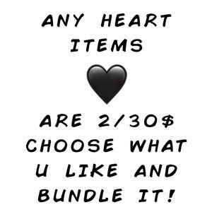 🖤2/30$ -- Bundle Any Items In my Closet with 🖤Emoji